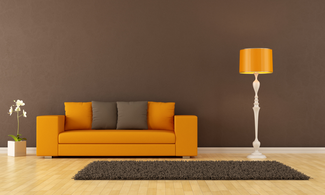 oranges sofa welche wandfarbe passt die besten idee. Black Bedroom Furniture Sets. Home Design Ideas